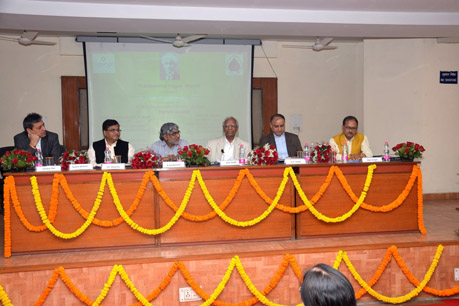 Dr. R. B. Singh presenting Key-note Address during the event