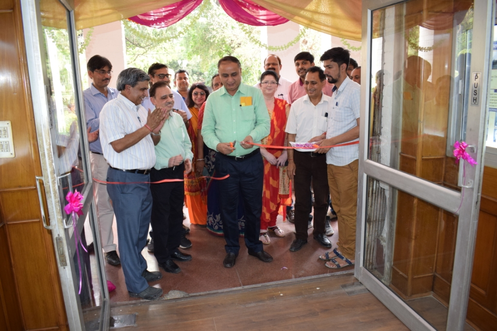 Dr. A.K.Singh, Director, IARI innagurated panaroma gallery at Division of Entomology