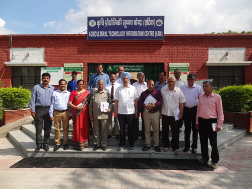 UGC-NAAC Peer team for accreditation visited ATIC on 09.08.2016