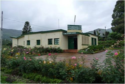 Rest house in the scenic lap of Nilgiri hills