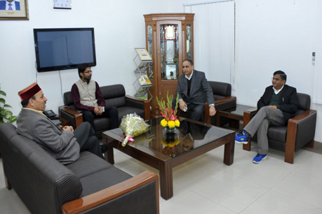 Visit of Hon'ble Minister of Agriculture, Government of Himachal Pradesh at ICAR-IARI