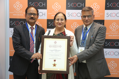 ICAR-IARI Bags the Skoch Order of Merit and the Top Most Skoch Platinum Award for Eco-Friendly Wastewater Treatment Technology under the Transformational Innovation Category