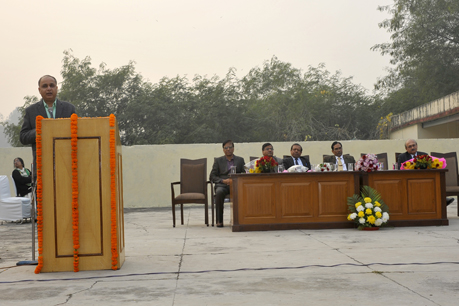 DG, ICAR welcomes New Year 2018 at ICAR-IARI, Delhi