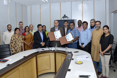 MOU Signed Between IARI and World Vision India