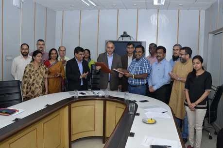 MOU between IARI and World Vision India