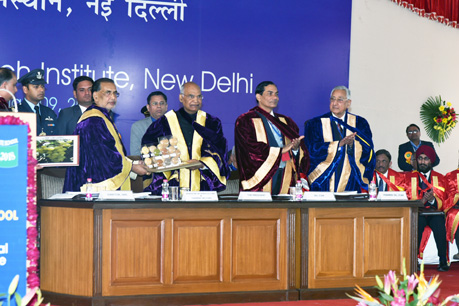 Release of varieties during Convocation