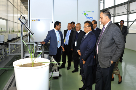 Visit of ASEAN Delegates to Phenomics Facility