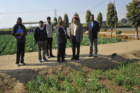 Visit of Hon'ble Minister of Agriculture, Government of Himachal Pradesh at UVRD, ICAR-IARI