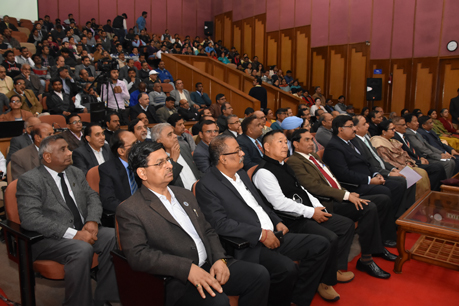 Audience during the 48th LBS Lecture on 8.2.18 at B.P. Pal Auditorium at IARI, Delhi