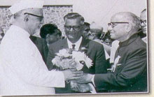 Dr. Zakir Hussain, Vice President of India