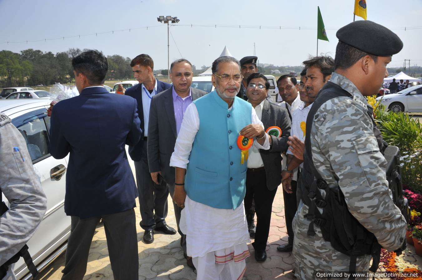 Shri radha Mohan Singh Ji, Hon'ble Union Minister of Agriculture and Farmers Welfare visited the Pusa Krishi Vigyan Mela 2019 on second day of the mela